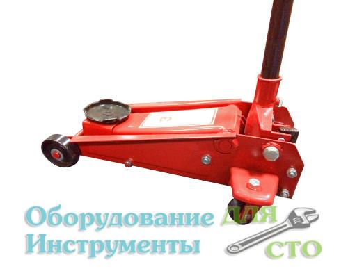 Домкрат гидравлический подкатной (грузоподъемность 3000 кг) ZX0801C