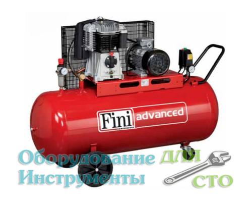 Компрессор поршневой Fini BK114-200-5.5 (580 л/мин) 380 вольт
