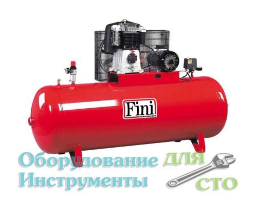 Компрессор поршневой 14 бар Fini BK119-500F-7.5-AP (705 л/мин) 380 вольт