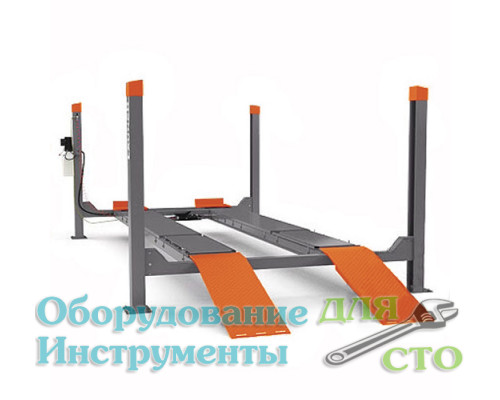 Четырехстоечный подъемник Launch TLT455W (грузоподъемность 5500 кг)