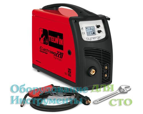 Инверторный сварочный полуавтомат Telwin ELECTROMIG 220 (MIG–MAG) 10-230 A