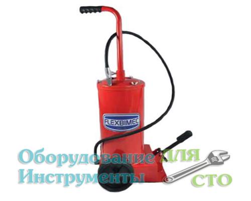 Нагнетатель консистентной смазки 16 кг. (ножной привод) Flexbimec 005190
