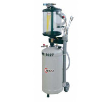 Установка для замены масла с предкамерой ShiningBerg HC-3027 (30 литров)
