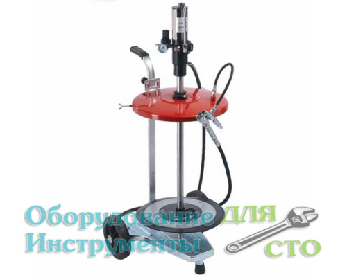 Нагнетатель консистентной смазки под тару 60 кг. (пневматический) Flexbimec 004960C