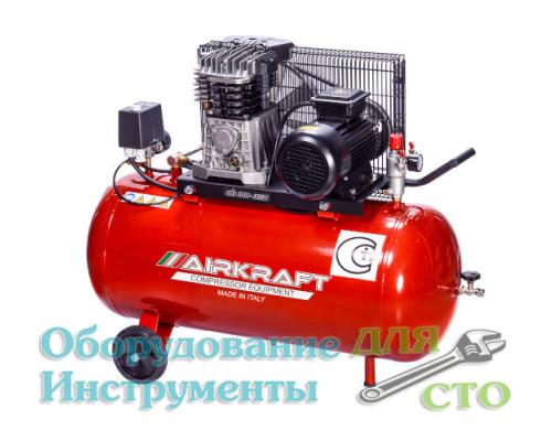 Компрессор поршневой Airkraft AK100-360T-380 (360 л/мин) 380 вольт